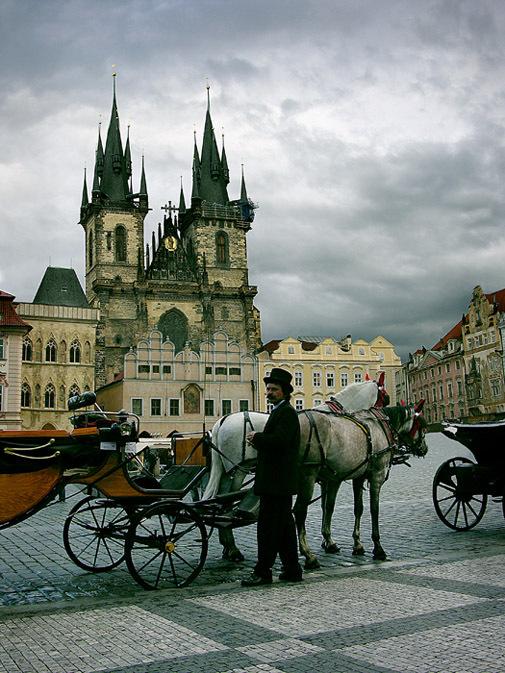 «Коллекционер» в Праге
