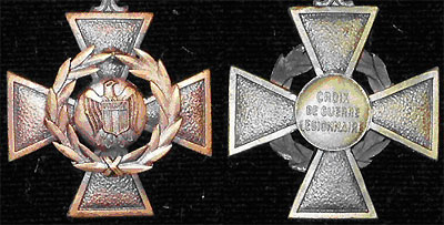 Croix de Guerre Legionnarire