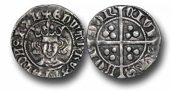 Старинная монета Великобритании